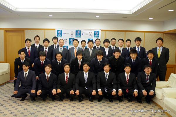 東大阪市 野田市長へ表敬訪問のご報告